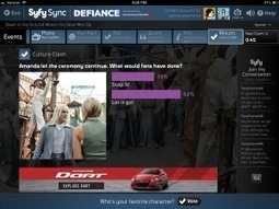 Sync of the Week: Syfy Sync Gives Defiance Fans a Third Screen | fan-gage | Pervasive Entertainment Times | Scoop.it