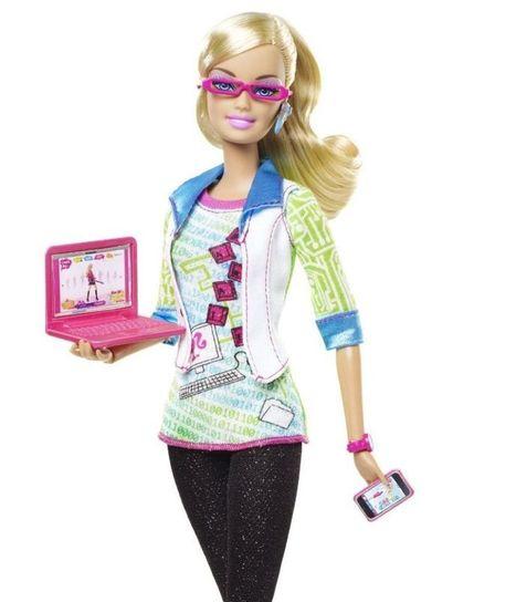 La Barbie ingénieure informaticienne ne passe pas | Les Femmes de Génie sont rares ? | Scoop.it