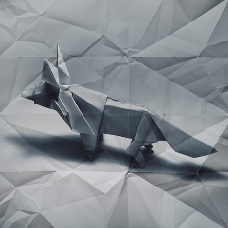 Origami Portraits by Marc Fichou | Made with (and of) Paper | Scoop.it