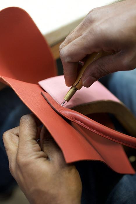 À la rencontre des artisans Hermès   Métiers, emplois et formations dans la filière cuir   Scoop.it