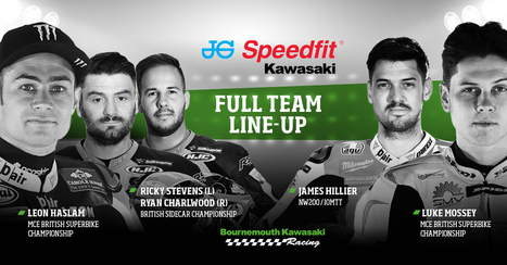 Bournemouth Kawasaki Racing announce JG Speedfit as title sponsor | Motorcycle Racing | Scoop.it