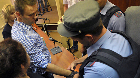 Anti-corruption blogger Navalny sentenced to 5 years behind bars ...   Nepal   Scoop.it