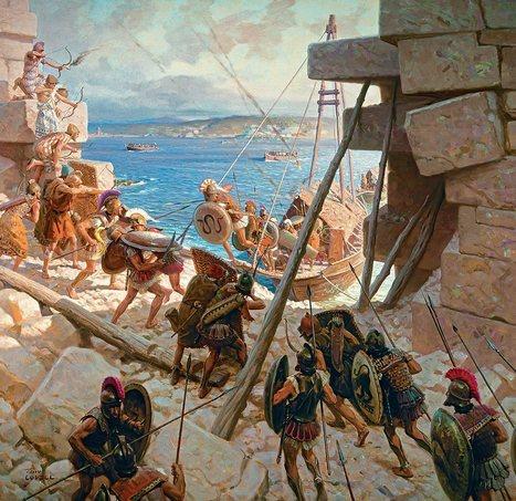 Alexandre vacille devant Tyr · Histoire & Civilisations · Articles | Merveilles - Marvels | Scoop.it