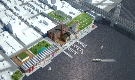 HAO's proposal to revive Brooklyn's Domino Sugar Factory into cultural destination | green streets | Scoop.it