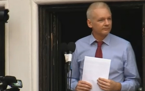 "Assange: US 'Must Renounce Witch Hunt Against WikiLeaks' | L'impresa ""mobile"" 