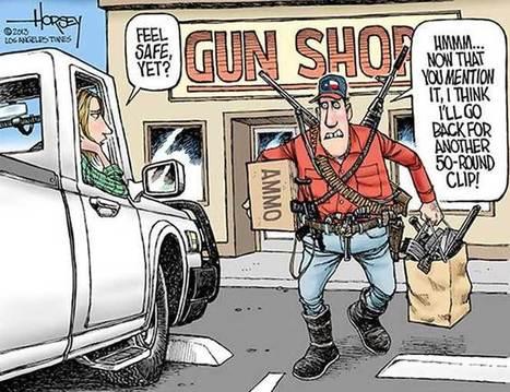 Safety anxiety-1 | The US Gun Debate | Scoop.it