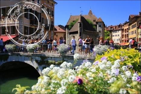 Le Thiou et les fameux canaux d'Annecy   Talons hauts & sac à dos   Scoop.it
