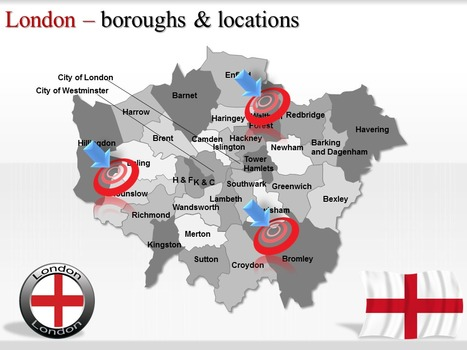 POWERPOINT TEMPLARW GIVE A VIEW OF BEAUTIFUL LONDON CITY MAP | PowerPoint Maps | Scoop.it