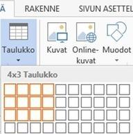 Word: taulukolla sisältö ojennukseen « Windows 8 yrityksille | Windows-tabletit kouluihin | Scoop.it