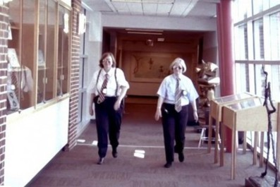 Video: Librarians make some pretty bad ass cops in a remake of the ... | Private Law Librarians | Scoop.it