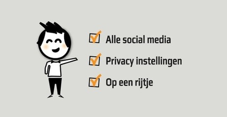 Handleidingen privacy instellingen; Social media & applicaties | Mediawijsheid en ouders | Scoop.it