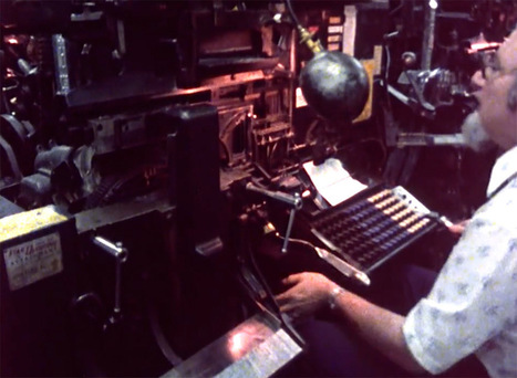 A Fascinating Film About the Last Day of Hot Metal Typesetting at the New York Times | Communication design | Scoop.it