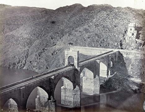 Puente de Alcántara, en 1859.   Curious World   Scoop.it