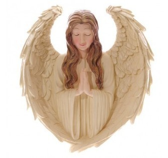 Angel Praying - Wall Display | Home Gifts | Scoop.it