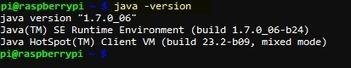 SHA - - - Raspberry Pi - Installing Oracle Java Development Kit (JDK1.7.0u6) | Internet of Things | Scoop.it