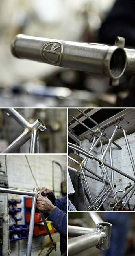 Made in England Roberts Cycles | Headset Press | Classic Steel Bikes | Scoop.it