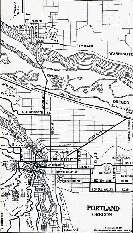 portland or 1917 | PDX water maps and messes | Scoop.it