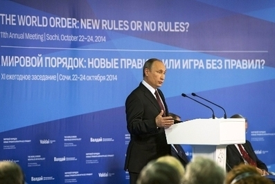 Time to establish a new world order, says Putin  | Russia Beyond The Headlines | New World Order - #NWO | Scoop.it
