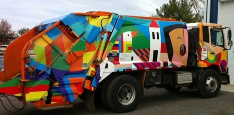 Public Art That Isn't Garbage, but Collects It | Sustainable Futures | Scoop.it