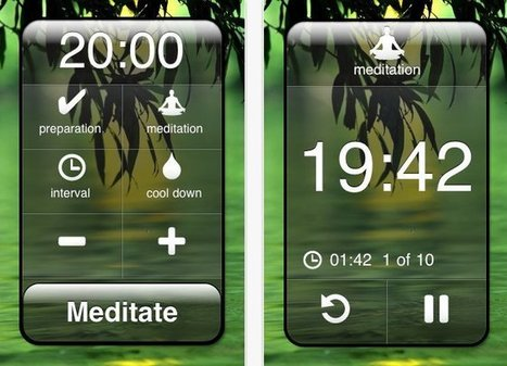 Meditation Apps To Calm Stress And Boost Mood | Expat Life In Japan: | Scoop.it