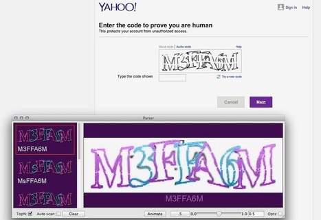 Software Learns To Crack CAPTCHAs - Popular Science   Programming   Scoop.it