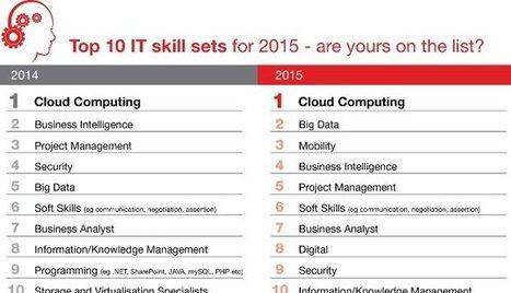 Top 10 IT Skills for 2015   Richard Fischer   LinkedIn   Entretiens Professionnels   Scoop.it