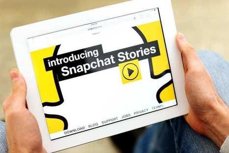 Snapchat a franchi la barre des 10 milliards de vidéos vues chaque jour | Actualité Social Media : blogs & réseaux sociaux | Scoop.it