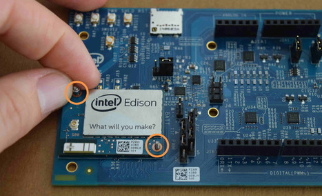 Assembling the Intel® Edison board with the Arduino expansion board | Intel® Developer Zone | Raspberry Pi | Scoop.it