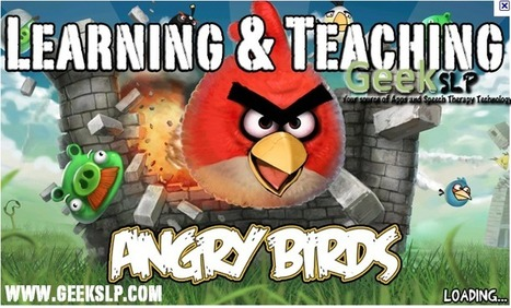Gaming into education: Can even Angry Birds promote learning? | GeekSLP: Your source of educational apps and technology | Common Core Algebra 1 | Scoop.it