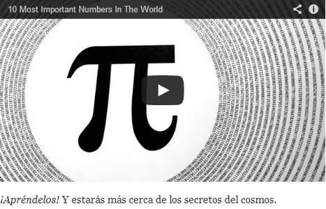 Los 10 números más importantes del mundo. ¿Los conoces? | Music, Videos, Colours, Natural Health | Scoop.it