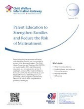 Parent Education to Strengthen Families and Reduce the Risk of Maltreatment   Healthy Marriage Links and Clips   Scoop.it