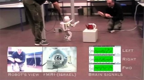 Scientists take mind-controlled robot for a stroll | Post-Sapiens, les êtres technologiques | Scoop.it