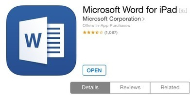 Mini-review: People who already use Office will love Office for iPad | Tools and Apps for School Libraries | Scoop.it