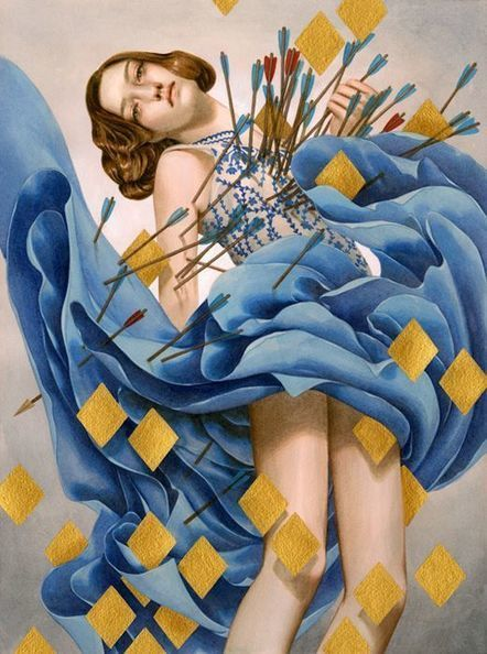 New Beautifully Surreal Acrylic and Colored Pencil Paintings by Tran Nguyen | Le It e Amo ✪ | Scoop.it