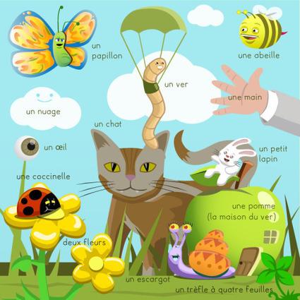 Le jardin | FLE enfants | Scoop.it