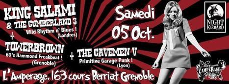 King Salami + Towerbrown + Cavemen Five | Facebook | GRECOOL : Grenoble is cool | Scoop.it