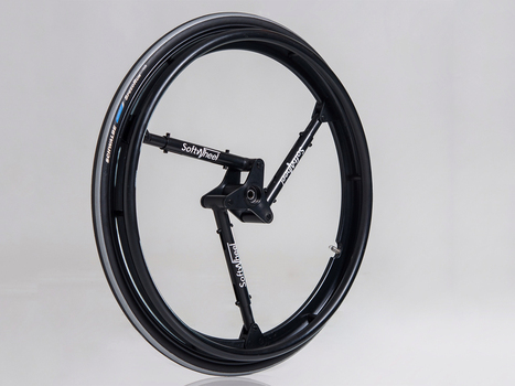 An Ingenious Shock-Absorbing Wheel for Bikes and Wheelchairs | 21st Century Innovative Technologies and Developments as also discoveries, curiosity ( insolite)... | Scoop.it