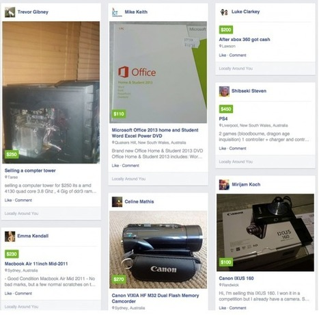 La place de marché de Facebook en test devrait inquiéter eBay - #Arobasenet.com | Going social | Scoop.it