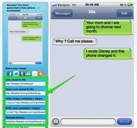 Creating Texting Dialogues for Students | Nik's QuickShout: | ICT tips & tools, tracks & trails and... questioning them all ! | Scoop.it