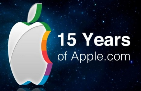 15 Years of Apple's Homepage | Creative Tech | Scoop.it