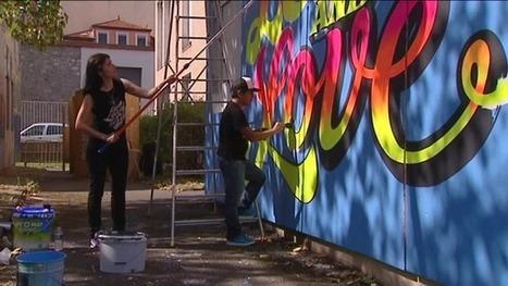 Le Festival Wall Drawings s'empare des murs d'un collège lyonnais - France 3 Rhône-Alpes | Le Mac LYON dans la presse | Scoop.it