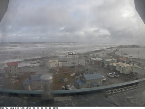Elven Foot Waves Break Seawall at Barrow Alaska | GarryRogers NatCon News | Scoop.it