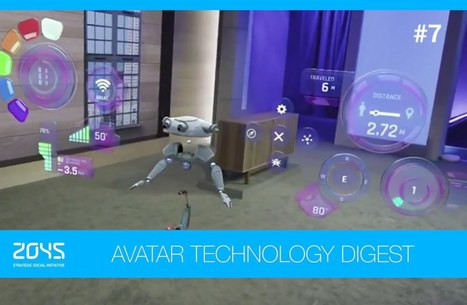 #7 Avatar Technology Digest / HoloLens, artificial heart, Hands Omni glove, telepresence robot etc. - YouTube | leapmind | Scoop.it
