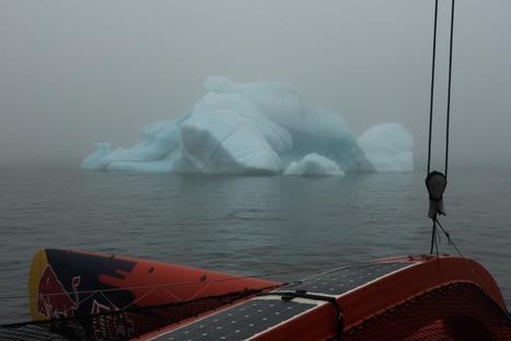 #GuoChuang #Arctique #Russie - mer des Laptev : maxi trimaran et #iceberg | Hurtigruten Arctique Antarctique | Scoop.it