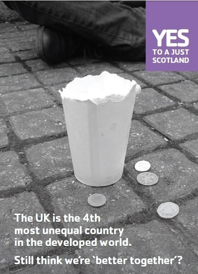 A stark choice - widening inequality or a  fairer, more prosperous Scotland | Referendum 2014 | Scoop.it