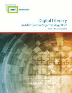 NMC Releases Horizon Project Strategic Brief on Digital Literacy | Teaching Innovations Newsletter | Scoop.it