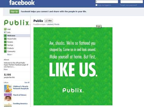 Publix Debuts on Facebook | social musings | Scoop.it