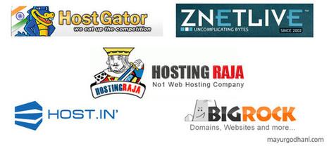 Top Webhosting companies in India - Mayur Godhani | Web Hosting | Scoop.it