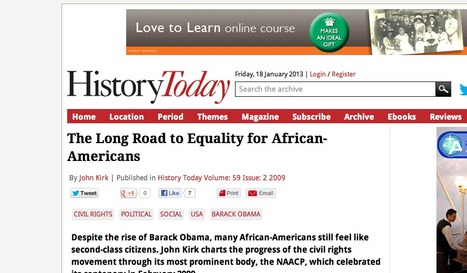 Website #1: Today | African Americans during the 1930s | Scoop.it