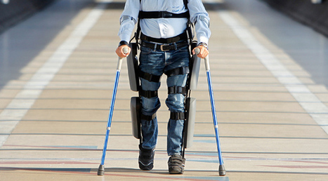 FDA approves first ever personal exoskeleton | Realms of Healthcare and Business | Scoop.it
